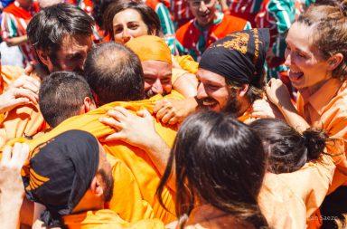 Jove Muixeranga de València a Alacant - Juny de 2016