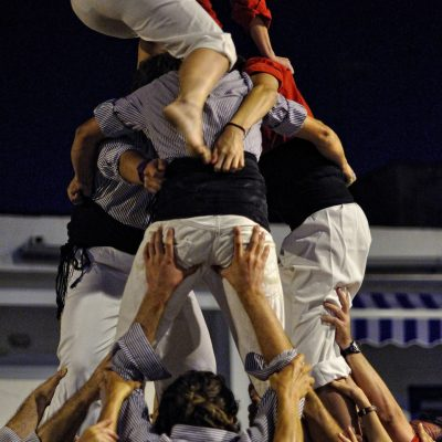 2011, estrena de la Muixeranga de Cullera