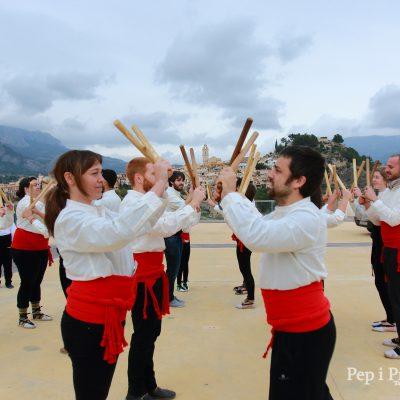 Dansa de Bastons - La Nucia