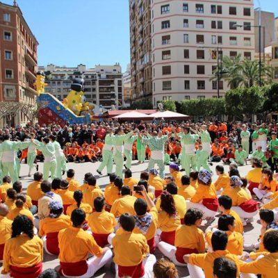 Dansa dels Negrets - II Trobada de Muixerangues de Castelló