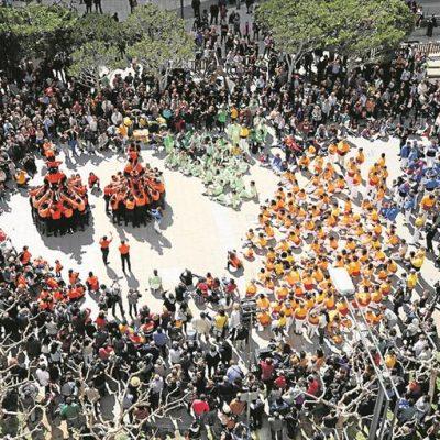 Remat i Desplegada - Trobada de Muixerangues de Castelló