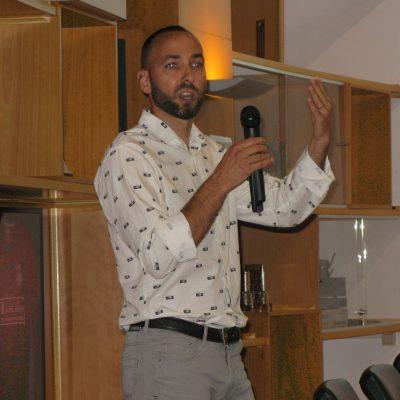Raül Hurtado, autor del cartell
