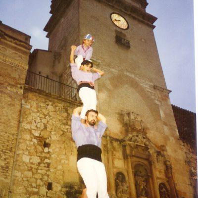 1993.- Pilar de Cinc de la Jove de Tarragona.