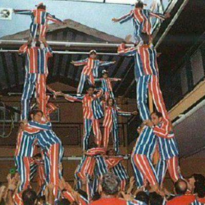 1994.- La Muixeranga d'Algemesí a Santa Tecla.