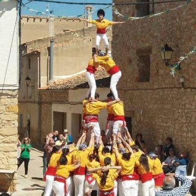 Pilotó a Atzeneta - Muixeranga de Castelló