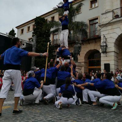 Cinc en un Peu - Muixeranga d'Alacant