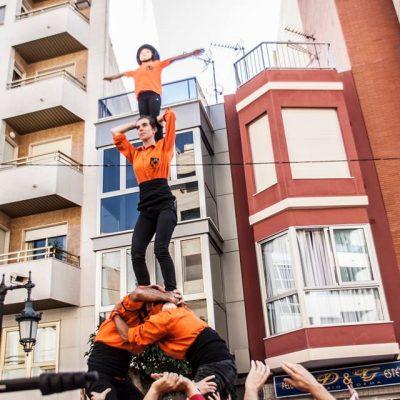 Jove Muixeranga de València - Remat de Tomasina