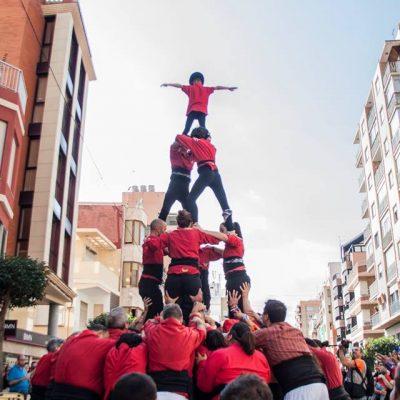 Muixeranga de Xàtiva - Castell