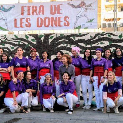 Muixerangues de dones - Muixeranga de la Safor