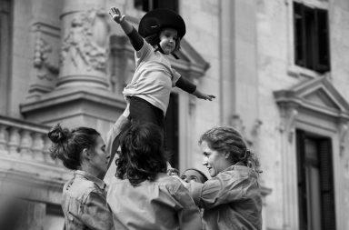 Comissió feminista de la Jove Muixeranga de València