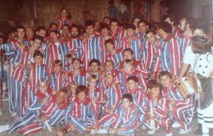 La Muixeranga d'Algemesí, l'any 1983
