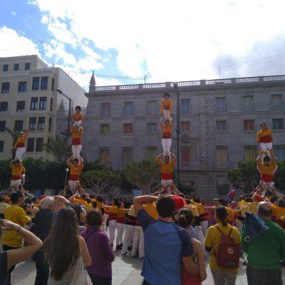 Pilars comiat - Aranya - Muixeranga de Castelló