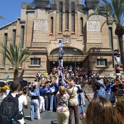 Pi Doble Aixecat - Muixeranga d'Alacant